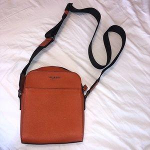Michael Kors WARREN leather crossbody bag
